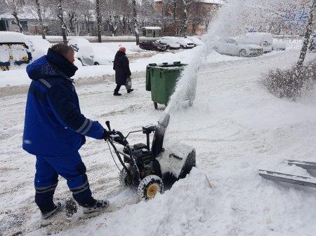 Ежедневная уборка снега